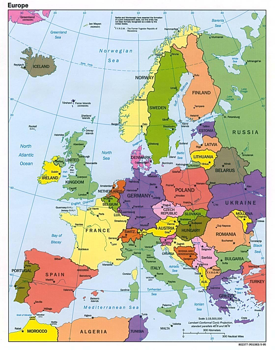 Spain World Map